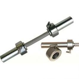 Гриф Barbell гантельный d 50 мм металлическая ручка/стопорный L530 мм