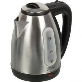 Чайник электрический Sinbo SK 7362, серебристый