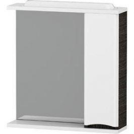 Зеркальный шкаф Am.Pm Like 80 см, с подсветкой, правый венге, текстурированный (M80MPR0801VF)