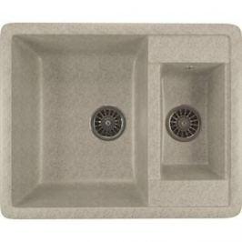 Кухонная мойка Mixline ML-GM21 48,5х60 серый 310 (4630030635208)