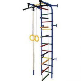 Детский спортивный комплекс Формула здоровья Жирафик-1А Плюс синий- радуга