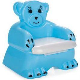 Детский горшочек-кресло Pilsan Bobo цвет голубой (07-505)