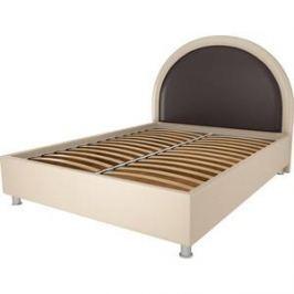 Кровать OrthoSleep Аляска бисквит-шоколад ортопед.основание 120х200