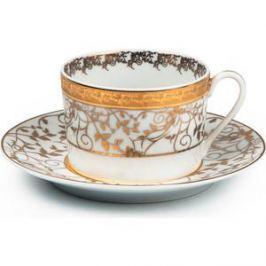 Набор чайных пар 0.22 л 12 предметов La Rose des Sables Mimosa Lierre Or (539506 947)