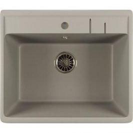 Кухонная мойка Mixline ML-GM15 49х55х20 графит 342 (4620031445579)