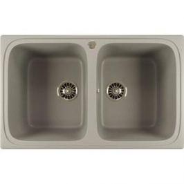 Кухонная мойка Mixline ML-GM23 49,5х77,5 графит 342 (4620031445814)