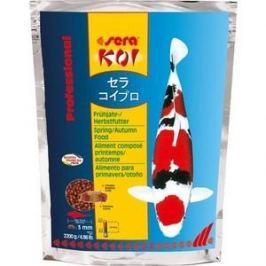 Корм SERA Professional KOI Spring / Autumn Food весенний и осенний чипсы для кои 2,2кг