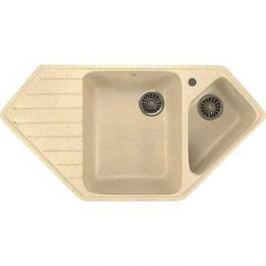 Кухонная мойка Mixline ML-GM25 50х97 бежевый 328 (4630030636311)