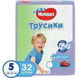 Huggies Подгузники-трусики Annapurna Размер 5 13-17кг 32шт для мальчиков