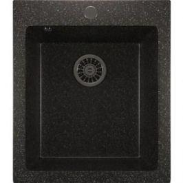Кухонная мойка Mixline ML-GM14 42х49,5х19 черный 308 (4630030633556)
