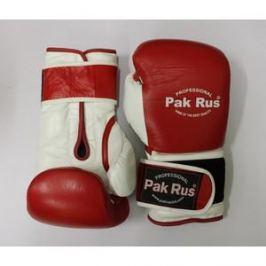Перчатки боксерские Pak Rus 12 OZ красные (PR-12492)