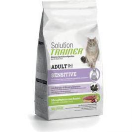 Сухой корм Trainer Solution Sensitive With Duck с уткой для кошек чувствительных и склонных к аллергии 1,5кг