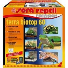 Террариум SERA PRECISION TERRA BIOTOP 60 Glass Terrarium стеклянный с термометром/гигрометром 60л