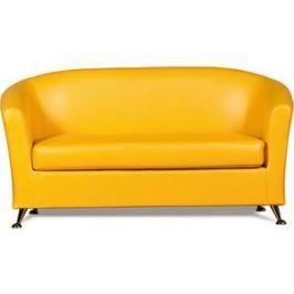 Диван СМК Бонн 040 2х к/з Фалкон 12 GL желтый