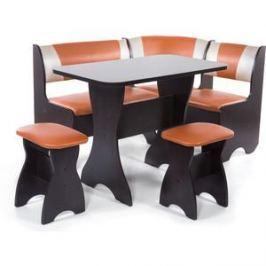 Набор мебели для кухни Бител Тюльпан - комби (венге с-120 + с-101 венге)