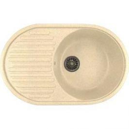 Кухонная мойка Mixline ML-GM16 45,5х72 бежевый 328 (4620031445364)