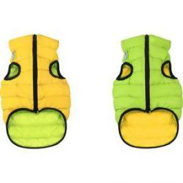 Курточка CoLLaR AiryVest двухсторонняя салатово-желтая размер S 40 для собак (1583)