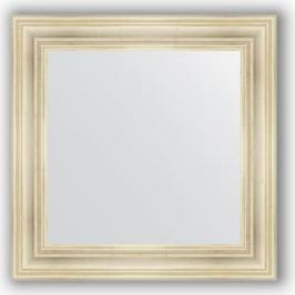 Зеркало в багетной раме Evoform Definite 72x72 см, травленое серебро 99 мм (BY 3156)