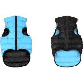 Курточка CoLLaR AiryVest двухсторонняя черно-голубая размер XS 25 для собак (1599)