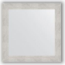 Зеркало в багетной раме Evoform Definite 66x66 см, серебреный дождь 70 мм (BY 3144)