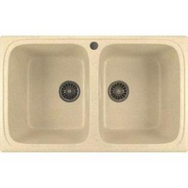 Кухонная мойка Mixline ML-GM23 49,5х77,5 бежевый 328 (4630030635833)