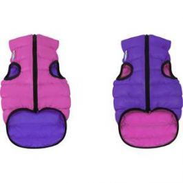 Курточка CoLLaR AiryVest двухсторонняя розово-фиолетовая размер M 45 для собак (1578)