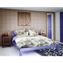 Комплект постельного белья Волшебная ночь 1,5 сп, сатин, Павлин с наволочками 50x70 (188411)