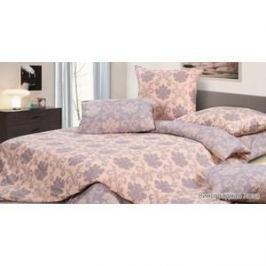 Комплект постельного белья Ecotex Евро, сатин, Виноградная Лоза (КГЕВиноградная лоза)