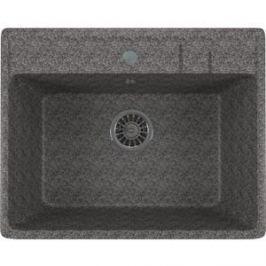 Кухонная мойка Mixline ML-GM15 49х55х20 темно-серый 309 (4630030633822)