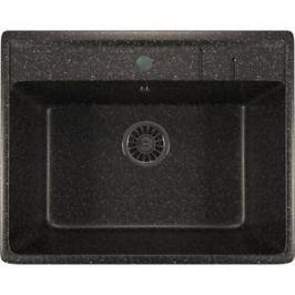 Кухонная мойка Mixline ML-GM15 49х55х20 черный 308 (4630030633792)