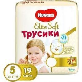 Huggies Трусики - подгузники Элит Софт 5 12-22 кг 19 шт