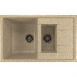 Кухонная мойка Mixline ML-GM22 49,5х77 светло-розовый 311 (4630030635536)