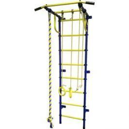 Детский спортивный комплекс Пионер С2РМ сине/жёлтый