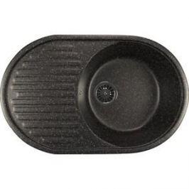 Кухонная мойка Mixline ML-GM16 45,5х72 черный 308 (4620031445241)