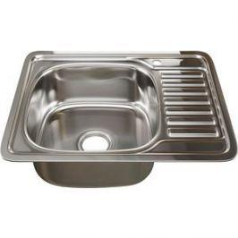 Кухонная мойка Mixline 48х58 врез 0,6 левая, выпуск 3 1/2 (4630030632238)