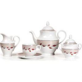 Сервиз чайный 15 предметов La Rose des Sables Elite Platine (659509 1570)
