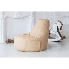Кресло-мешок Bean-bag Comfort creme экокожа
