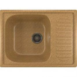 Кухонная мойка Mixline ML-GM18 49х64 песочный 302 (4630030634454)
