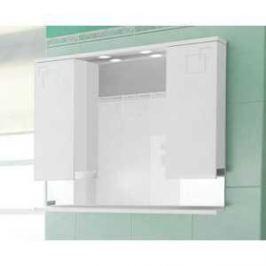 Зеркальный шкаф Меркана аккорд 80 см белое (20161)