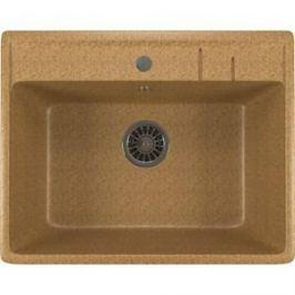 Кухонная мойка Mixline ML-GM15 49х55х20 песочный 302 (4630030633730)