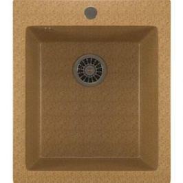Кухонная мойка Mixline ML-GM14 42х49,5х19 песочный 302 (4630030633495)