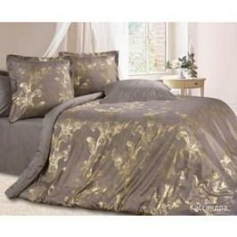 Комплект постельного белья Ecotex Евро, сатин-жаккард, Кассандра(КЭЕКассандра )