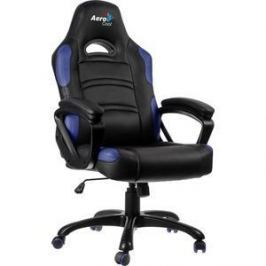 Кресло для геймера Aerocool AC80C-BB черно-синее