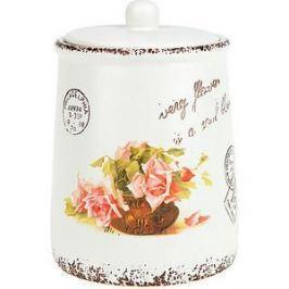 Банка для сыпучих продуктов 0.95 л ENS Group Персиковая роза (1750160)