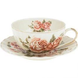 Чайный набор 4 предмета Best Home Porcelain Рубиновые розы (M1270294)