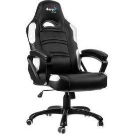 Кресло для геймера Aerocool AC80C-BW черно-белое