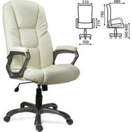 Кресло офисное Brabix Titan EX-579 экокожа бежевое 531399
