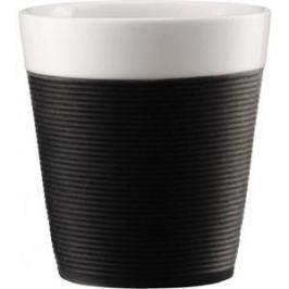 Набор кружек 0.17 л 2 штуки Bodum Pavina черный (11581-01)