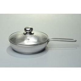 Сковорода 1.5 л с крышкой Амет (1с757 2 ручки)