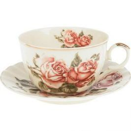 Чайный набор 12 предметов Best Home Porcelain Рубиновые розы (M1270295)